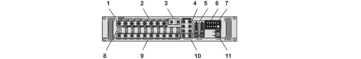 Передняя панель PP-9214