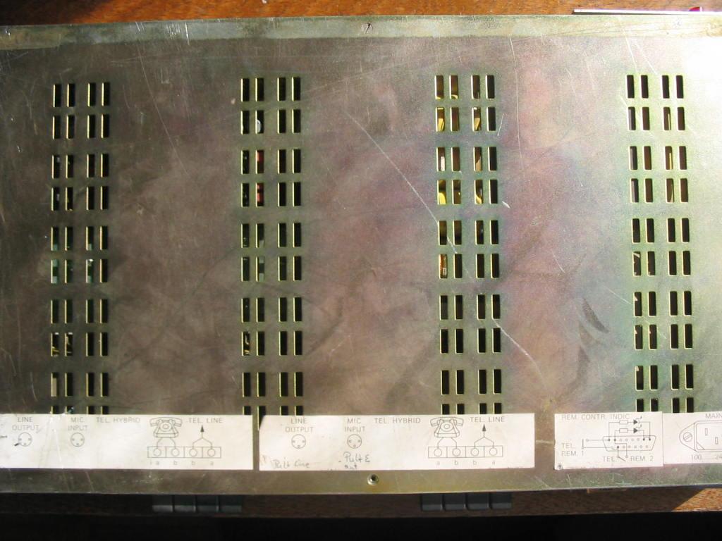 Усилитель воспроизведения магнитофона studer схема.